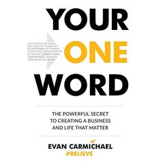 Amazon ❤  Your One Word: The Powerful Secret to Creating a Business and Life That Matter