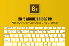 Adobe Bridge Keyboard Shortcuts Cheat Sheet 2015 For Creative Suite - Make A Website Hub