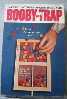 This game would pinch your fingers if you weren't careful - in the 70s no one cared if someone got hurt playing these games! I probably still have it somewhere