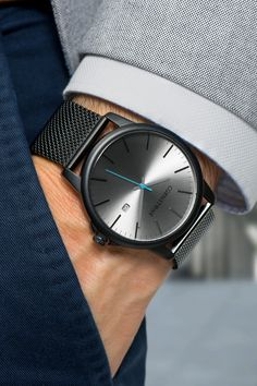 The perfect gift for the perfect gentleman -Complete your Watch collection with the iconic Gray by Cgenstone. Trendy Watches, Luxury Watches For Men, Cool Watches, Latest Watches, Popular Watches, Men's Watches, Best Affordable Watches, Grey Watch, Herren Style