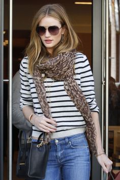 Rosie Huntington-Whitely In MiH Jeans