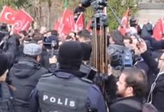February 16, 2018 - Fort Russ News - Paul Antonopoulos ANKARA, Turkey - Turkish police attempted to control a crowd of demonstrator...