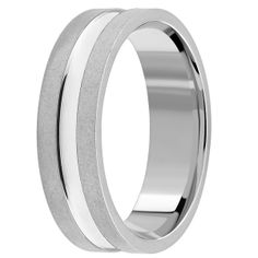 Jewelry Point - Matte with Polish Wedding Band Ring 14k Gold Comfort, $395.00 (http://www.jewelrypoint.com/matte-with-polish-wedding-band-ring-14k-gold-comfort/)