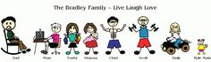 Full Color Family Stickers | Full color Family Car Decals