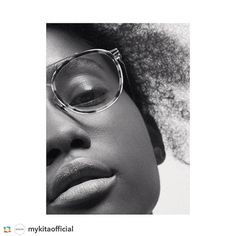b849f1972ef7dc Effortless finesse -  crystal noreiga wears MYKITA prescription frame OLLI  in Gold   Cocoa Sprinkles for