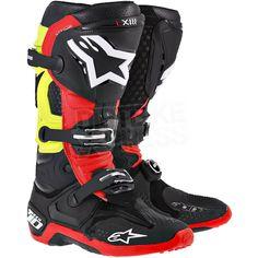 All new Alpinestars Tech 10 Motocross Boots! Available at www.dirtbikexpress.co.uk