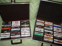 Lot Of 64 Classic/Alternative Rock Cassette Tapes & 2 Carry Cases Pink Floyd