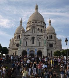 Sacre coeur - Monmartre , Paris- remembering seeing this place when Angie and I went there to celebrate our 1 years wedding anniversary- Sept of 2009