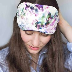 Stephie Ann Design floral print silk eye mask [affiliate link] Silk Eye Mask, Lingerie Accessories, Sleep Mask, Ann, Floral Prints, Eyes, Design, Women, Fashion