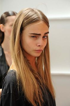 cara delevingne...perfect dirty blond hair color
