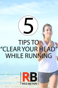 "Life gets tough. Here are some tips to ""clear your head"" and make your run more relaxing."