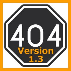 Version 1.3 of the #free #WordPress #Plugin 404page is out now for #download