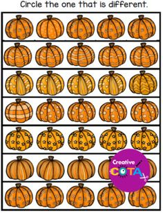 This is a no-prep-pumpkin unit package that includes thematic resources that include math, literacy, Special Education Activities, Special Education Classroom, Classroom Themes, Writing Activities, Classroom Activities, Math Literacy, Gross Motor, Fine Motor, The Very Busy Spider