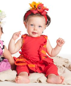 Poppy Patchwork Mimosa Dress & Leggings - Infant by KidCuteTure #zulily #zulilyfinds