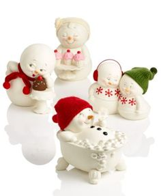 Department 56 Snowpinions Christmas Figurines Collection | macys.com