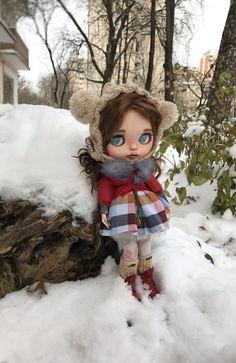 """Doll for sale!!!!!OOAK Custom blythe dol l""""Lola"""" by Darya Javnerik"""