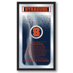 Syracuse Orange Fight Song Mirror - SportsFansPlus.com. Visit website for bonus coupon!