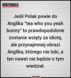 Polish Memes, Everything, Texts, Haha, Geek Stuff, Humor, Quotes, Quote, Geek Things