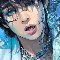 Taehyung Adios Everglow cover is out now . Jungkook Fanart, Kpop Fanart, Bts Chibi, Bts Taehyung, Bts Jimin, Bts Memes, Bts Art, Bts Fan Art, Bts Anime