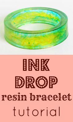 resin bracelet tutorial