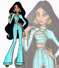 Hayden Williams Moda Ejemplos: Disney Diva Fashionistas por Hayden Williams…