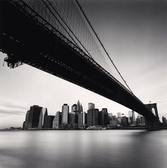Brooklyn Bridge, Study 1, New York, 2006 - Michael Kenna
