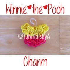 TutorialsByA's Winnie the Pooh Rainbow Loom charm