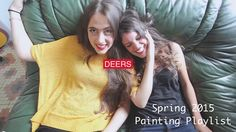 Spring 2015 Painting Playlist by Sabrina Brett