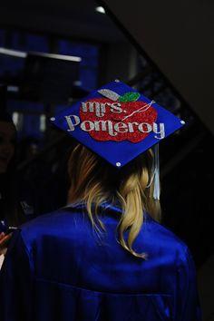 A cap fit for a teacher. #ukgrad