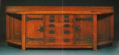 On This Day in Stickley History  On November 29th, 1999 Barbara Streisand made history when she sold her Gustav Stickley Columbus Avenue Sideboard for 596,500 at auction (she had previously stunned collectors when she purchased it in 1988 for a record breaking 363,000)This oak and wrought iron sideboard was originally made and used in Gustav Stickley's home in Syracuse, New York.