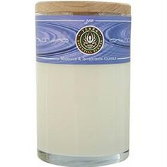 MASSAGE & INTENTION SOY CANDLE 12 OZ TUMBLER. A MEDITATIVE BLEND OF SANDALWOOD & NAG CHAMPA WITH AN AMETHYST GEMSTONE. BURNS APPROX. 30+ HOURS