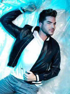 Attitude Magazine » Adam Lambert is Attitude's new cover boy.