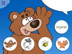 "Speaking of Apps : Hey Bear! What Do You Hear?June 12, 2013 11:28 AM by Jeremy Legaspi - Listen Up Bear ($1.99) is a fun app based on the classic kids tune ""The Bear Went Over the Mountain,"" but in this version it is not to see what he can see but instead to hear what he can hear! https://itunes.apple.com/us/app/listen-up-bear/id648926650?mt=8=uo%3D4"