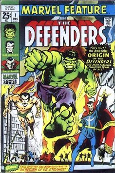 Defenders - Marvel Feature #1 Comic Book Cover