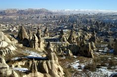 #Capadocia con nieve - #Turquia