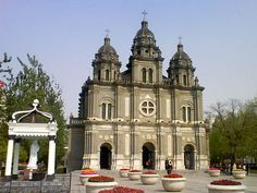 The Eastern Church is the most conspicuous cathedral in Beijing which located at Wangfujing Street.