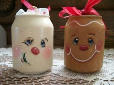 Flakey and Ginger Ornament Set by TheButtonPatchShop on Etsy, $7.95 (pop cans:)