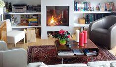 Installer un insert à votre cheminée est un bon compromis pour conserver le charme d'une cheminée traditionnelle et optimiser le chauffage du salon. Insert en fonte, ultra design, à porte battante ou coulissante, l'insert de cheminée a tout pour rendre votre salon chaleureux, convivial et aussi, très déco. Côté Maison a sélectionné les plus beaux séjours à vivre équipés d'une cheminée avec insert repérés sur Pinterest.