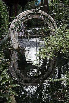 Gate at the garden, Wenshu, Chengdu, Oldtown China #Chengdu #China #Travel