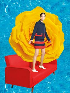 See the complete Maison Kitsuné Resort 2017 collection.