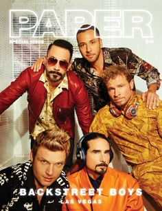 Backstreet Boys for Paper Magazine - Special Issue 2017 Kevin Richardson, Nick Carter, Bro, Backstreet Boys Lyrics, Tapas, Paper Magazine, Backstreet's Back, Brian Littrell, Boy Photos