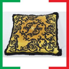 versace kissen pillow cuscino coj n coussin versace home collection pinterest versace. Black Bedroom Furniture Sets. Home Design Ideas