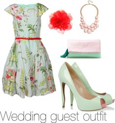 """""""Wedding guest outfit"""" by sam-findlay on Polyvore"""