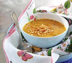 מרק עדשים, תפוזים וכוסברה (הגדל)