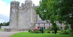 This is a domestic scale castle, typical of the type a wealthy family would have lived in in Norman Ireland. In this case it was the home of the DeBarry family, who came to Ireland via Wales in 1185 and were given large tracts of land in East Cork by King John of England.  The castle was not just a home, it was designed too for easy defense, with almost impenetrable walls and good views of all approaches.