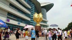 Golden Bauhinia Square (and HKCEC) Hongkong - http://www.globaloftourism.com/golden-bauhinia-square-and-hkcec-hongkong/