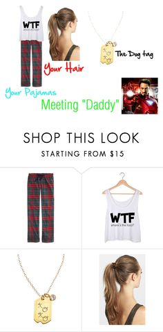 """""""Meeting """"Daddy"""""""" by the-punk-rock-kitten ❤ liked on Polyvore featuring beauty, J.Crew, Zina Kao Exclusives, France Luxe and Avengers"""