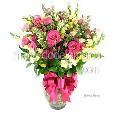 Flor Lisianthus Rosa Galaxy !| Envia Flores