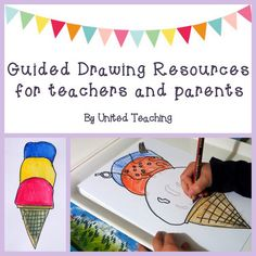 Guided Drawing Resources for Teachers and Parents
