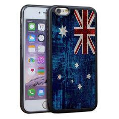 Australia's National Flag Case for Iphone 6s 6 Plus 5S SE Iphone 7 Iphone 7 Plus